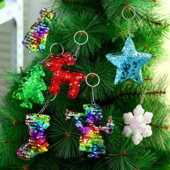 35 Pieces Christmas Key Chains