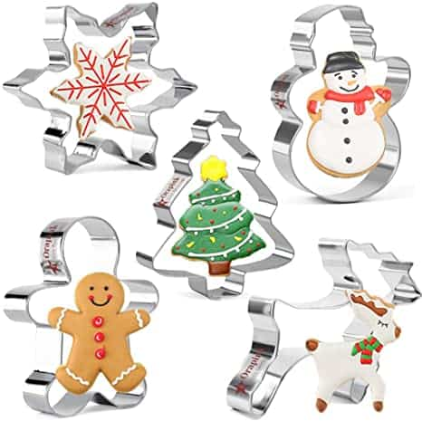 Christmas Cookie Cutters Set Gifts for Newlyweds