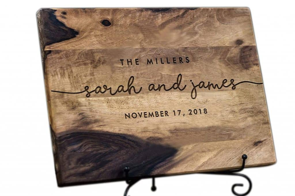 Cutting Board for Couples