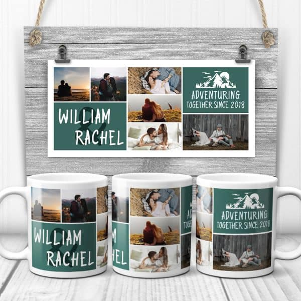 Adventuring Together Custom Mug