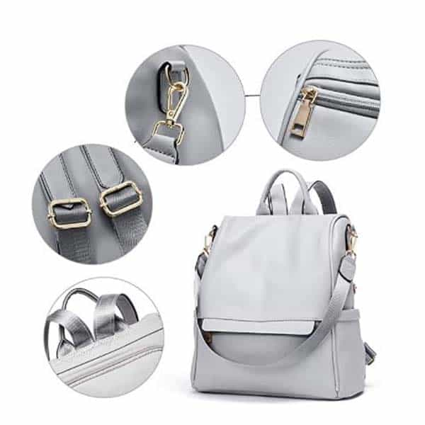 gray backpack for her