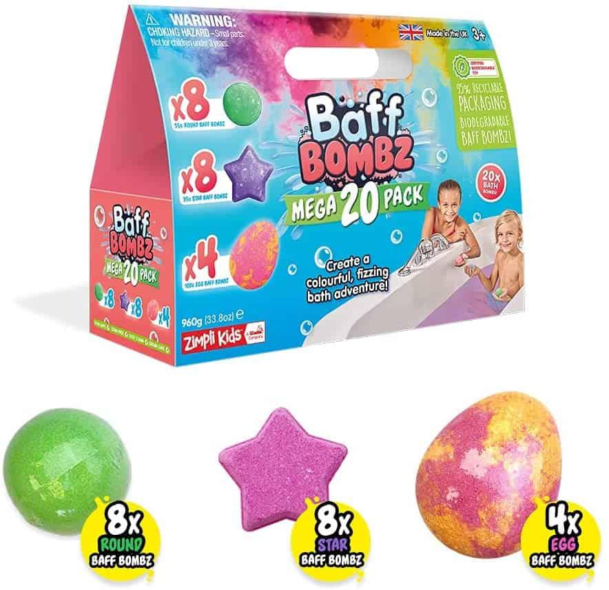 Bath Bombs Mega Pack