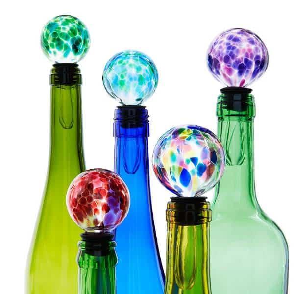 Birthstone Wine Bottle Stopper 21st Birthday Gift Ideas