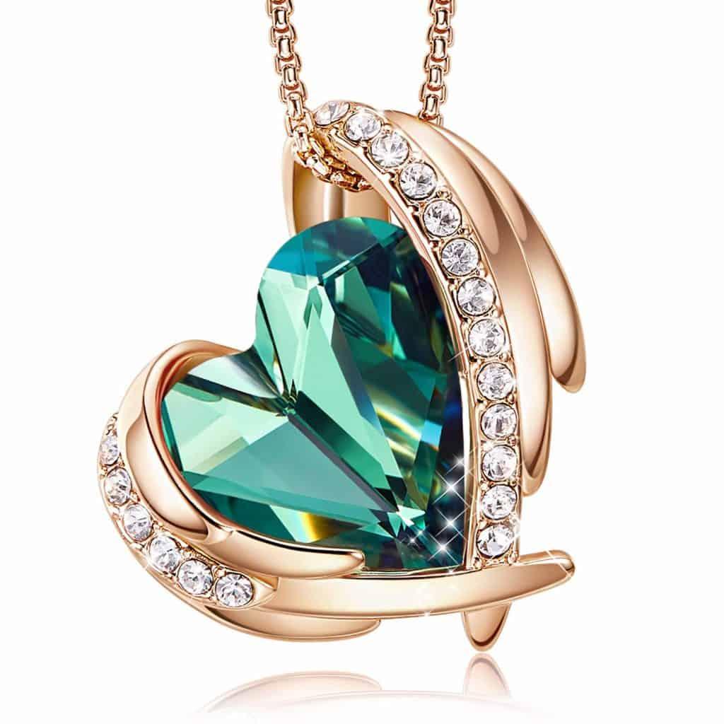 CDE Women Love Heart Pendant Necklaces