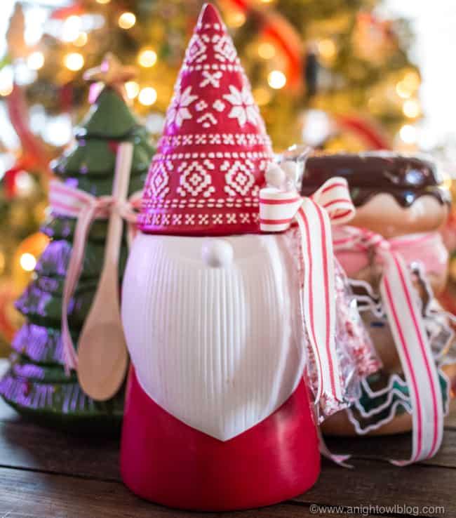 DIY Christmas Gifts - DIY Cookie Jar