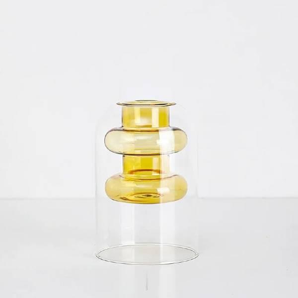 Crystal Glass Hydroponic Vase dirty santa gifts