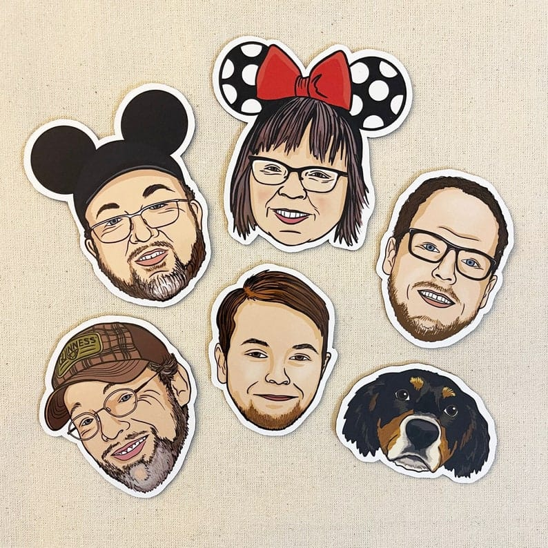 Custom Face Magnets funny gifts