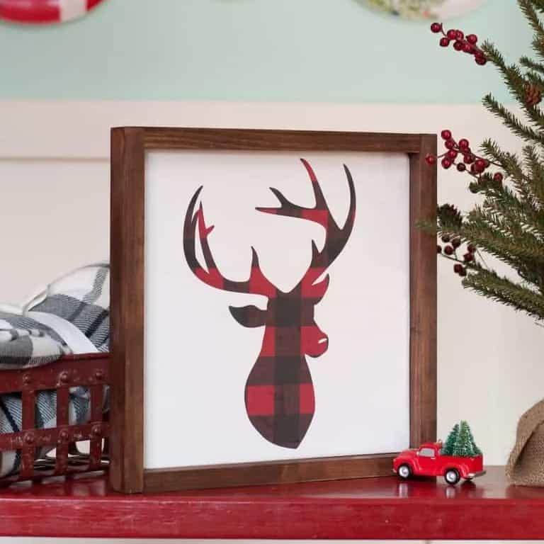 DIY Christmas Gifts - Christmas Sign