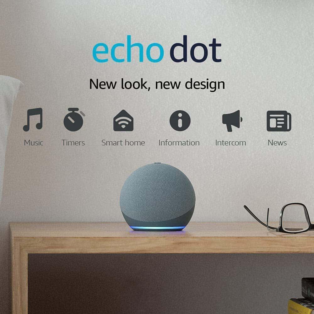 Christmas Gift Ideas - Echo Dot 4th Generation