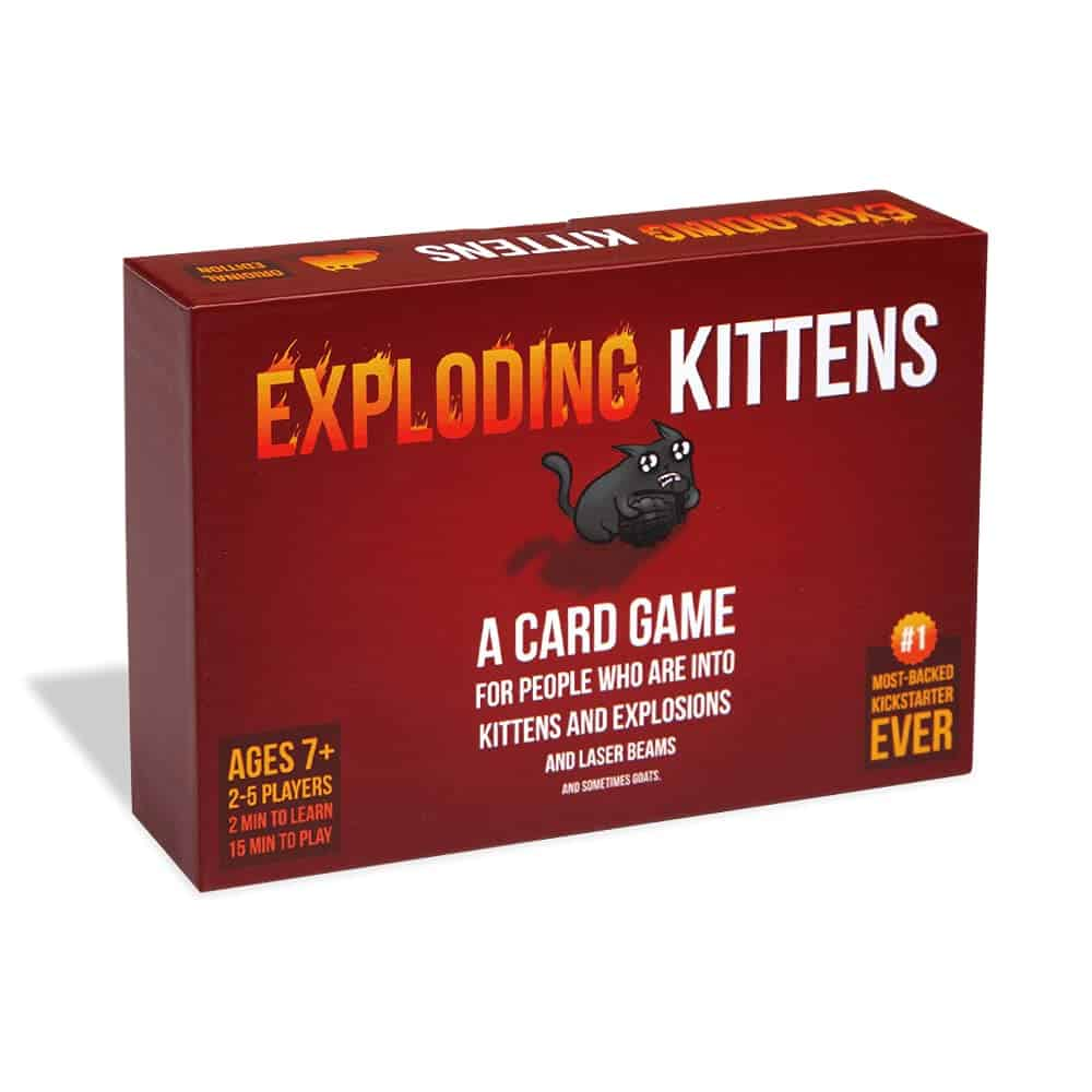 Christmas Gift Ideas - Exploding Kitten Party Game