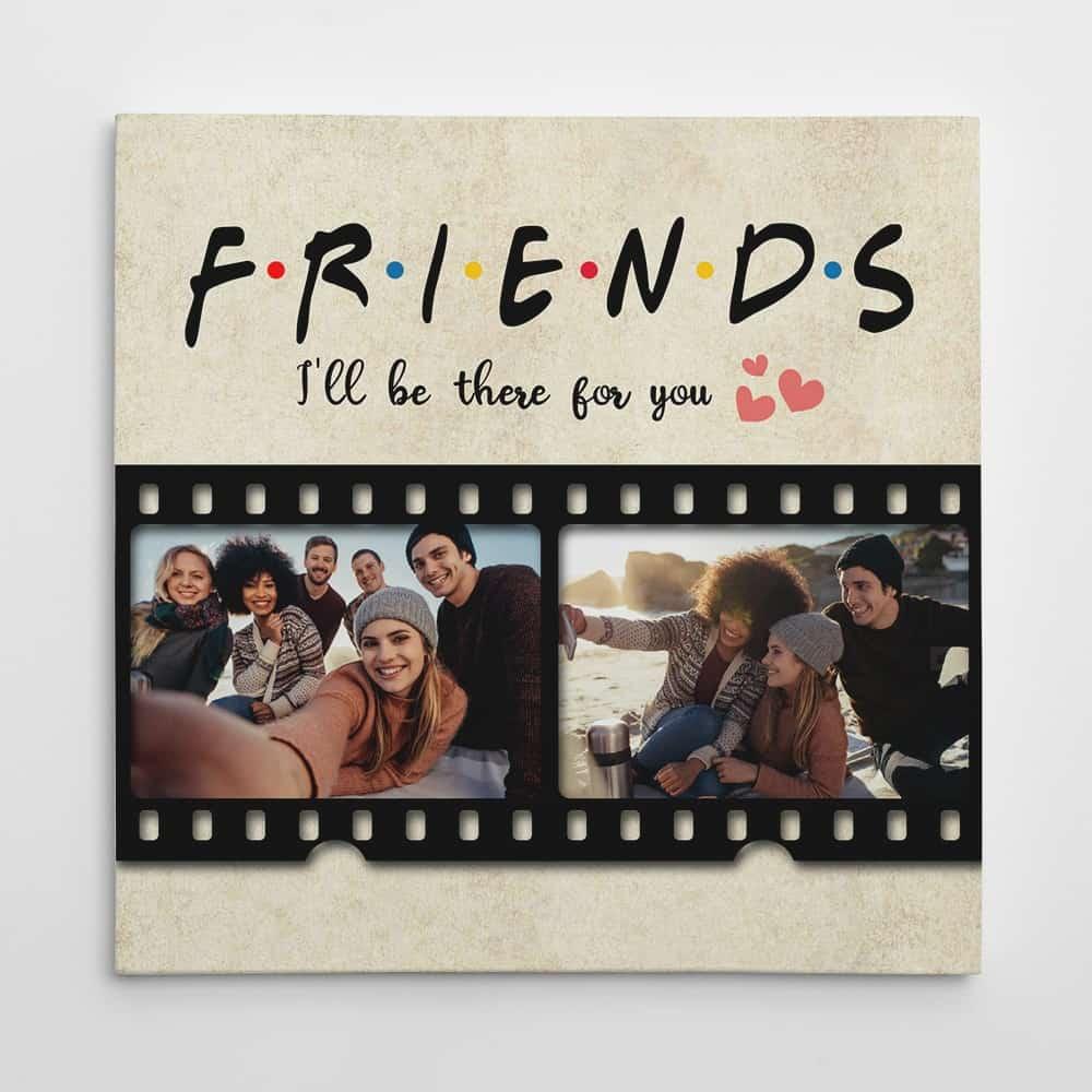 FRIENDS Custom Photo Canvas Print
