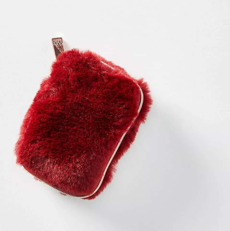 Faux Fur Earbud Case Secret Santa gifts for girls