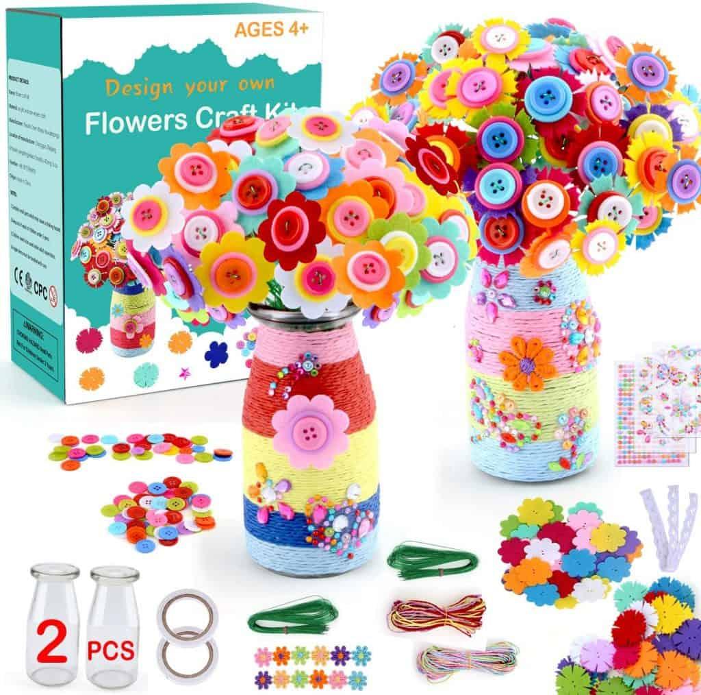 Christmas Gift Ideas - Flower Craft Kit