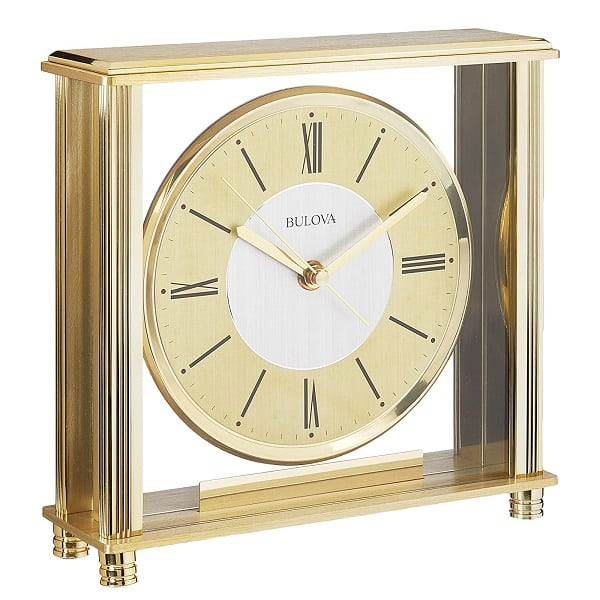 Grand Prix Brass Clock
