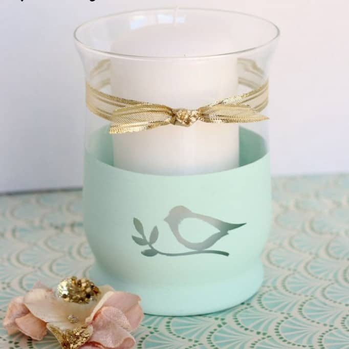DIY Christmas Gifts - Candle Holder