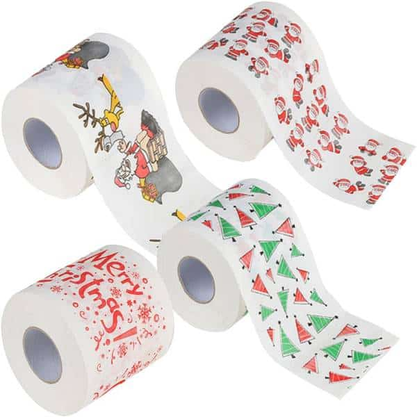 Highly Collectible Creative Merry Christmas Toilet Paper Dirty Santa Gifts