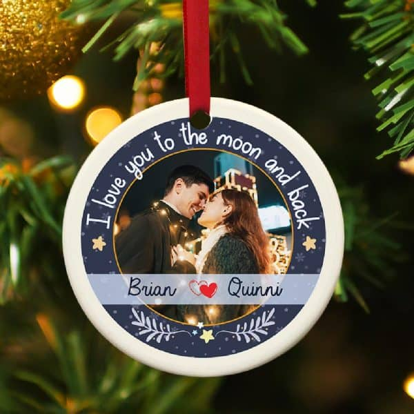 First Xmas Together Ornaments