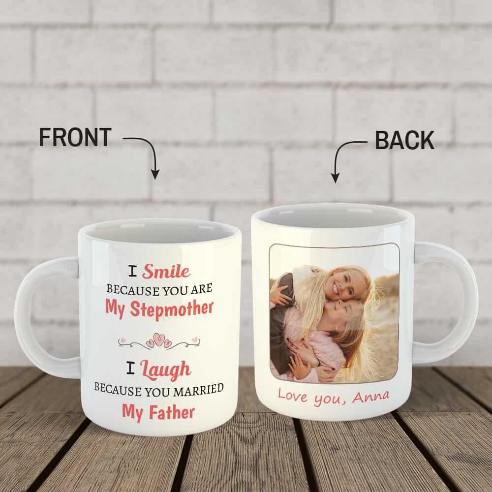 Christmas Gift Ideas - Christmas Stepmother Custom Mug