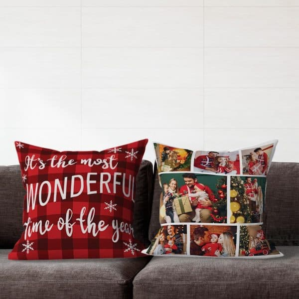 First Christmas Together Custom Pillow
