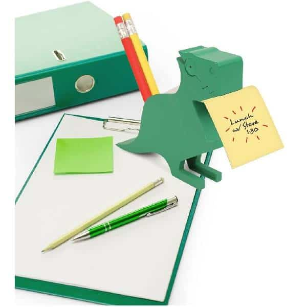 Kikkerland Dino Memo Holder Inexpensive Gifts For Coworkers