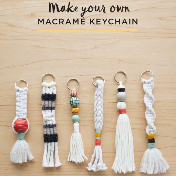 Macramé Key Chains