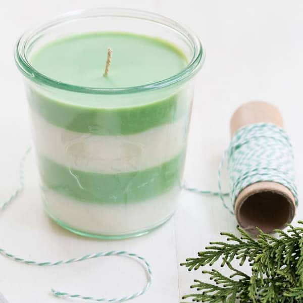 Pine-Scented Soy Candles