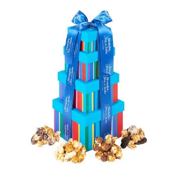 Popcorn Tower Christmas gifts for employees