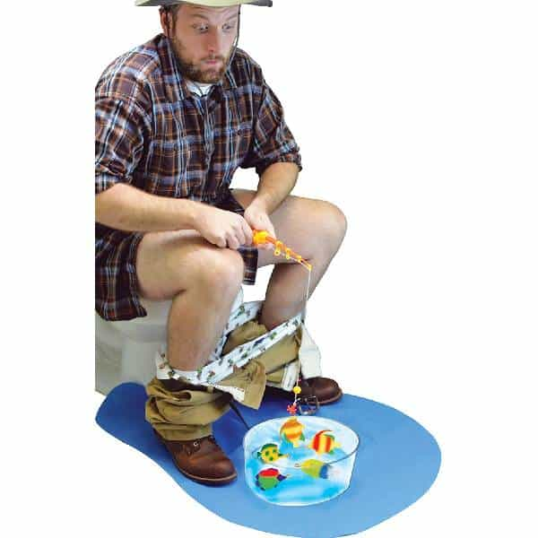 Potty Fisher Toilet Fishing Game dirty santa gifts