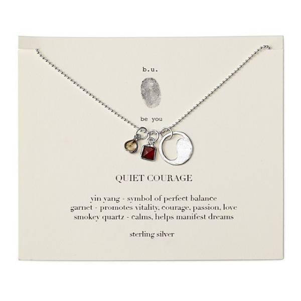 Quiet Courage Necklace 21st Birthday Gift Ideas