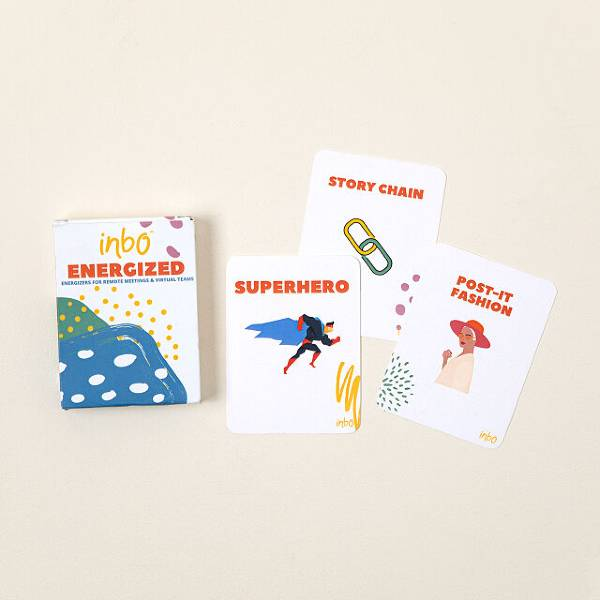 Remote Meeting Energizer Cards Inexpensive Gifts For Coworkers