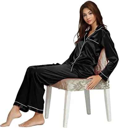 Satin Pajama Set present for boyfriends mom