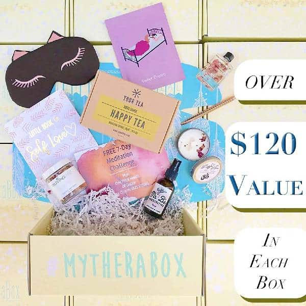 Self Care Subscription Box last minute christmas gifts