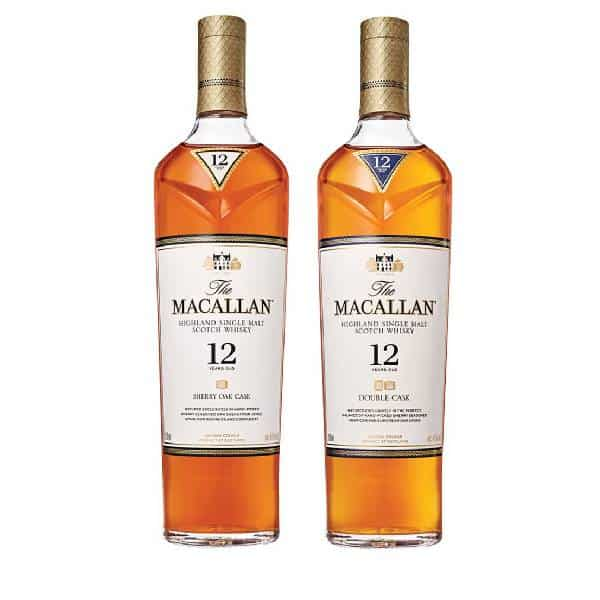 THE MACALLAN 12 YEARS OLD COLLECTION 21st Birthday Gift Ideas