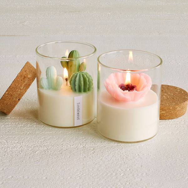 Terrarium Candle Christmas gifts for employees
