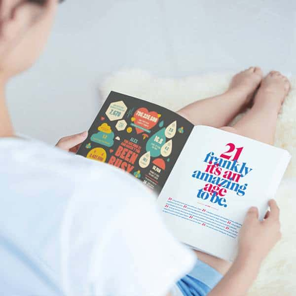 The Book of Everyone 21st Birthday Gift Ideas