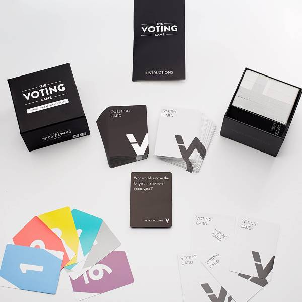 The Voting Game last minute christmas gifts