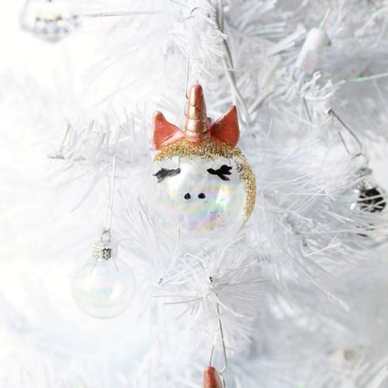 DIY Christmas Gifts - DIY Unicorn Ornaments