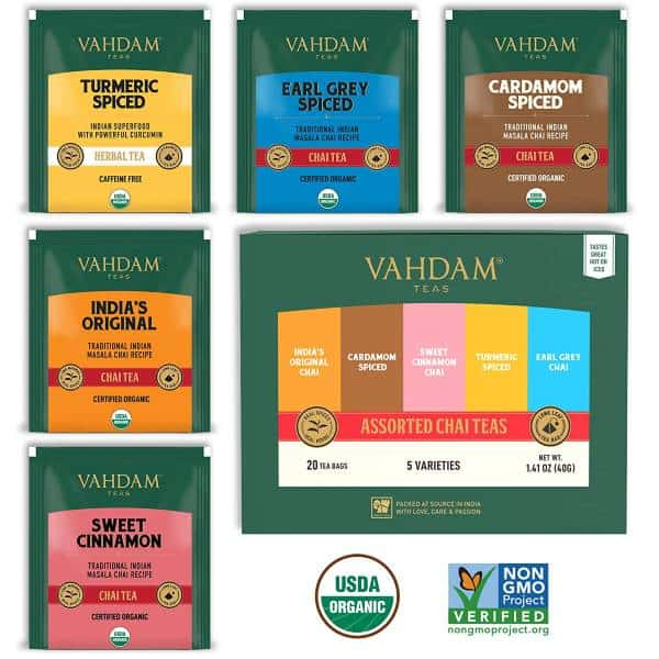 VAHDAM, Tea Sampler Inexpensive Gifts For Coworkers