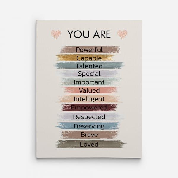 Empowered Women Poster 21st Birthday Gift Ideas