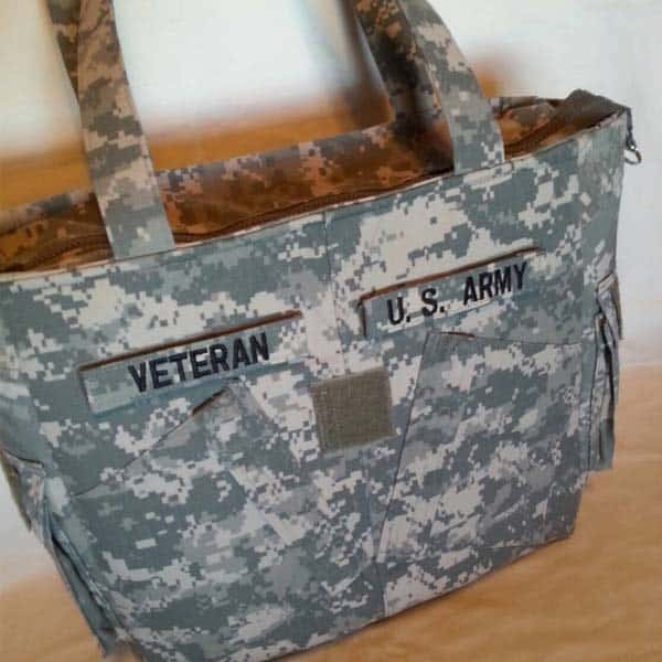 patriotic gifts for veterans: Army Uniform Bag