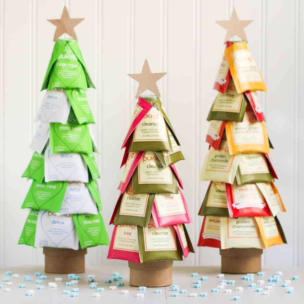 DIY Christmas Gifts - Christmas Tea Tree