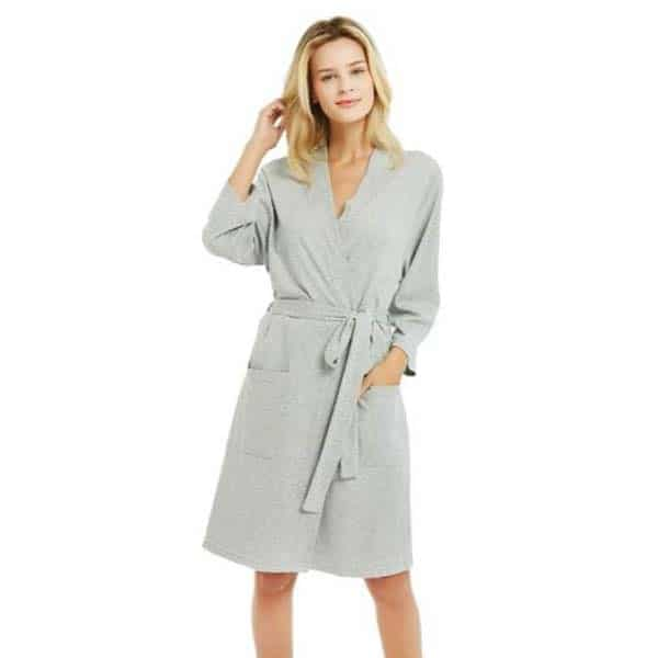 cotton robe for her
