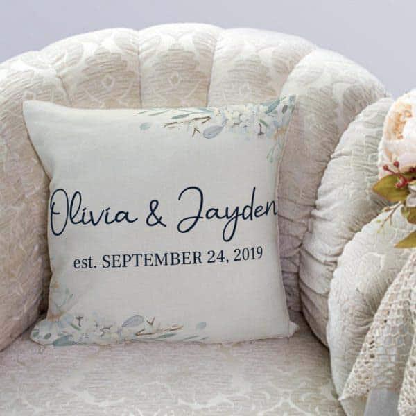 Couple's Name Pillow