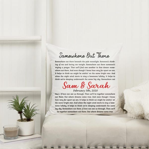 personalized love gifts for boyfriend: custom name song lyrics