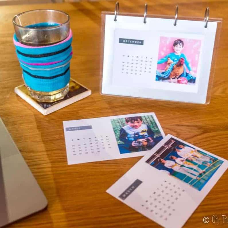 DIY Christmas Gifts - DIY Photo Calendar