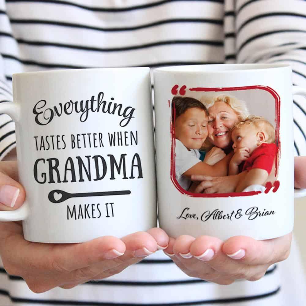 Grandma Christmas Custom Mug