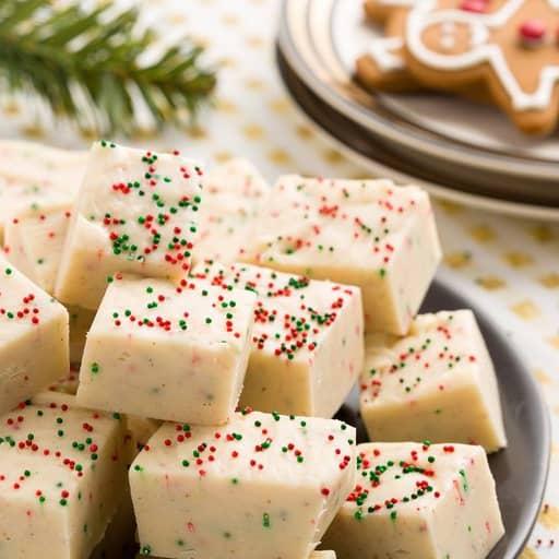 DIY Christmas Gifts - Gingerbread Fudge