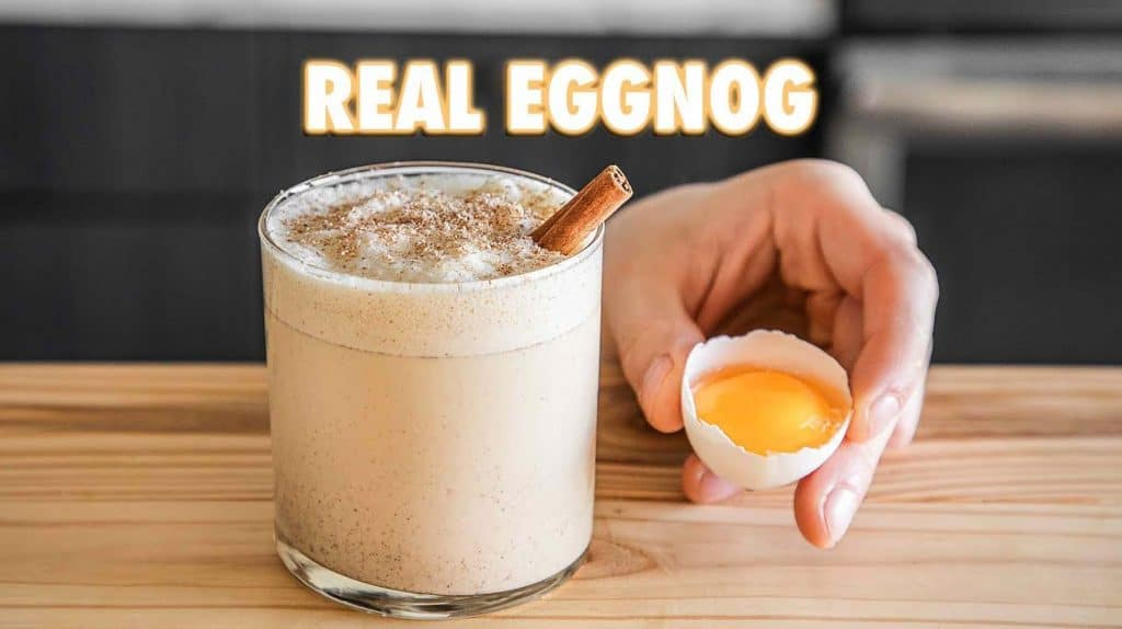 Homemade Eggnog: Day 6 Six Geese a Laying