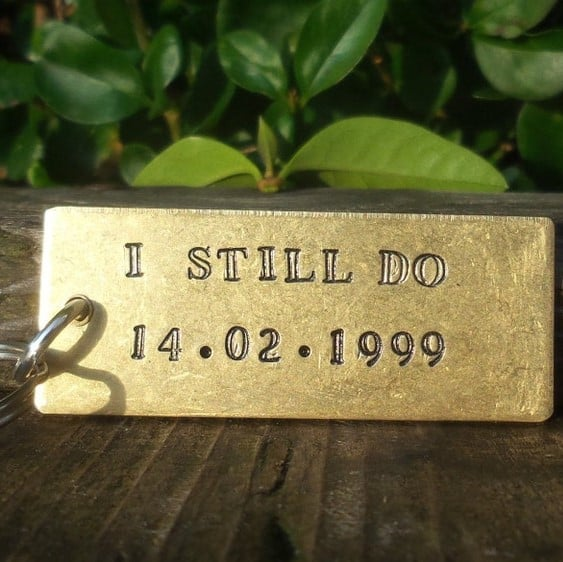 brass gifts for 21st anniversary