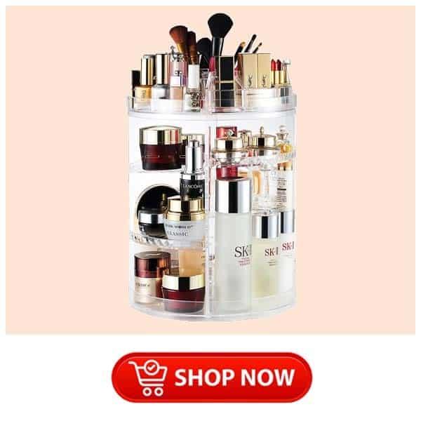 single mom present: Makeup Organizer